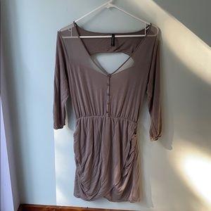 Gentle fawn dress